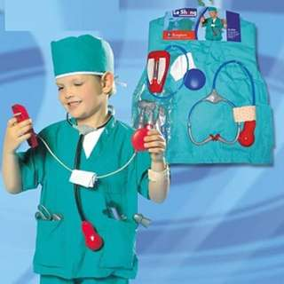 Surgeon Play Set And Costume For Kids