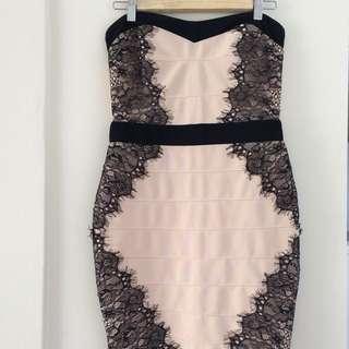 Lipsy Bodycon Lace Dress