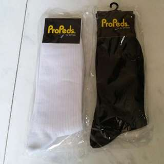 New Socks Propeds By Simnex ( White / Black)