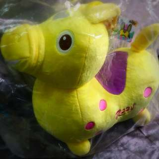 Rody 正版玩偶 檸檬黃 14吋