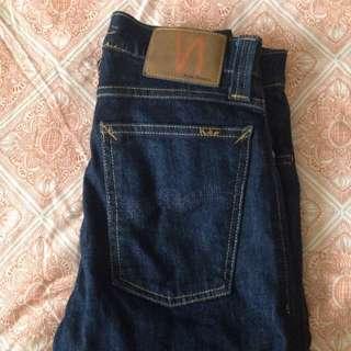 Nudie Jeans. High Kai Indigo Size 28/32 8