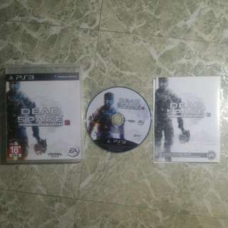 SONY PS3 絕命異次元3 DEAD SPACE3