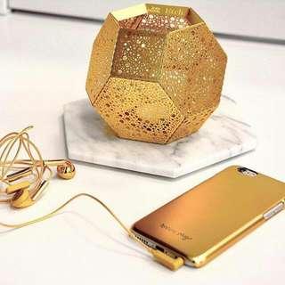 Happy plugs iPhone 6 Plus 超薄手機殼 奢華限定款-金色