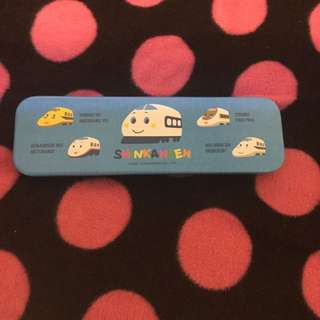 Shinkansen小火車鉛筆盒