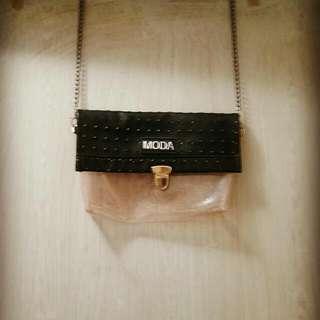 MODA透明側包✨