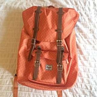 [PENDING]Orange Herschel Backpack