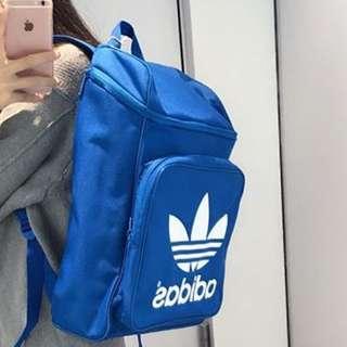 現貨!Adidas 三葉草 Logo 後背包
