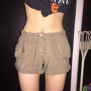 Khaki Shorts By junk.