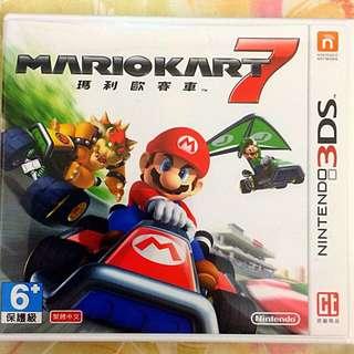 3DS 瑪利歐賽車7