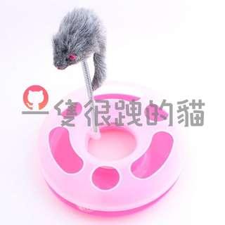 【包郵】響聲球/益智寵物玩具/貓玩具/狗玩具/發聲玩具/逗貓棒/貓棒子/鈴鐺/羽毛/顏色隨機。