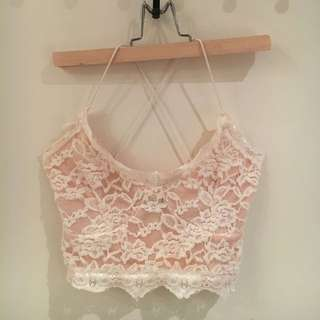 Misguided Lace Crop!