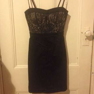 Classy Black Dress - Size 8