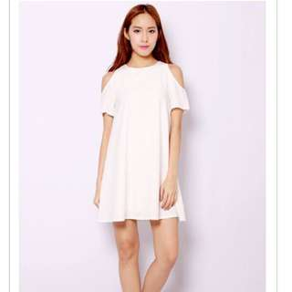 SSD JANELLE DRESS WHITE