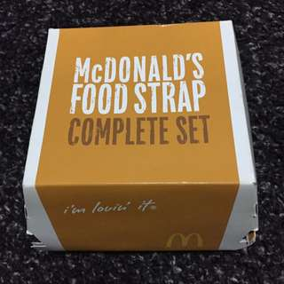 Limited Edition McDonald's Food Strap