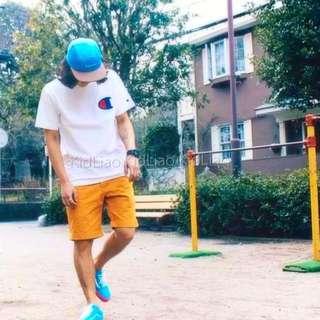 「011」Champion 2016春夏 冠軍LOGO短袖T恤 🏆黑白灰 三色