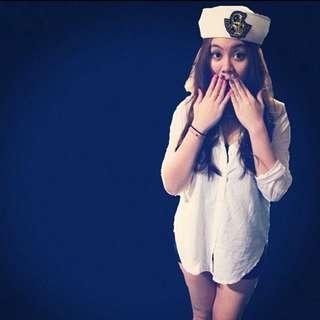 再降價⚡️可愛角色扮演海軍帽👒