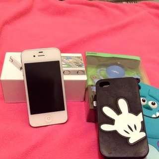 iphone 4s 白色16G,二手(2012年購入)