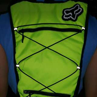 Fox Racing hydration backpack! Come With 2L Bladder Bag!