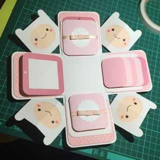 客製化盒子卡片(阿寶)