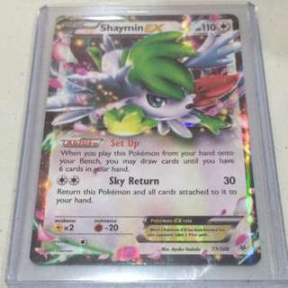 Pokemon Card (Shaymin Ex)