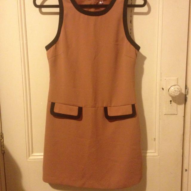 70s Style Dress - Size Sml