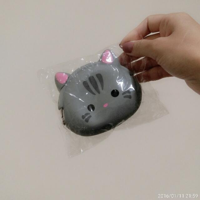 小老鼠 貓咪零錢包 鑰匙圈