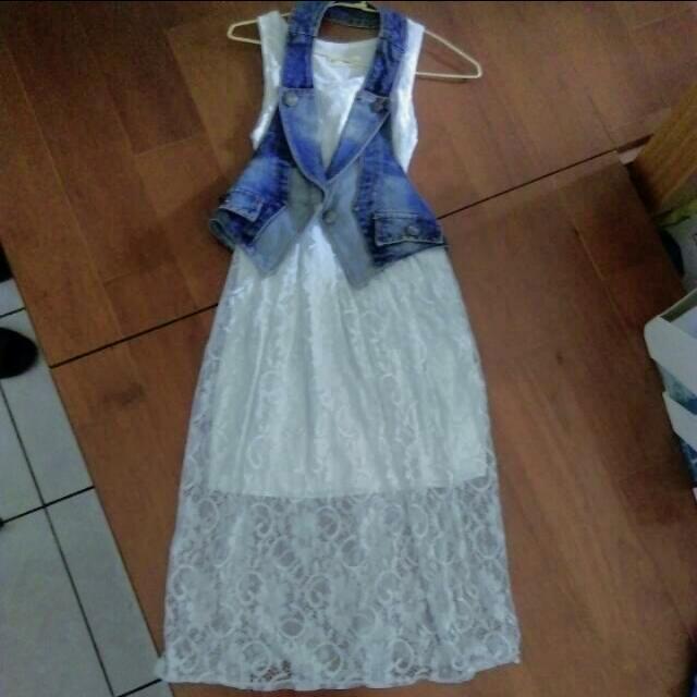降價💥兩件式蕾絲長洋裝