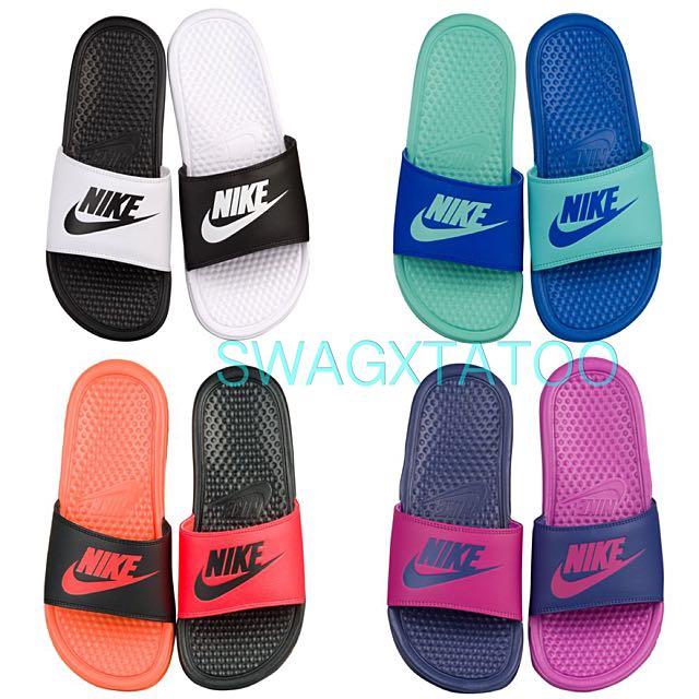 新品預購✔️  Nike Benassi 雙色拖鞋