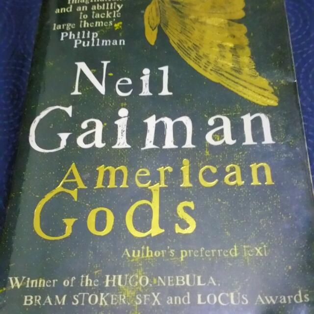 American Gods Book, Books & Stationery on Carousell