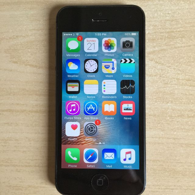 Apple iPhone 5 64GB Black GSM Factory Unlocked