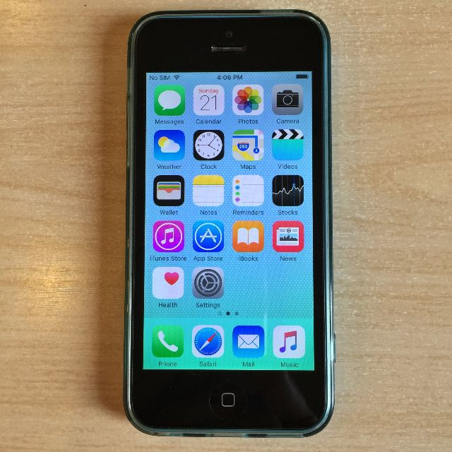 Apple iPhone 5C 32GB Blue (GSM)