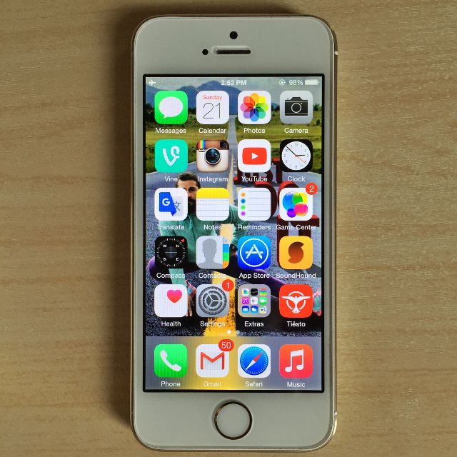 Apple iPhone 5S 64GB Gold GSM Factory Unlocked