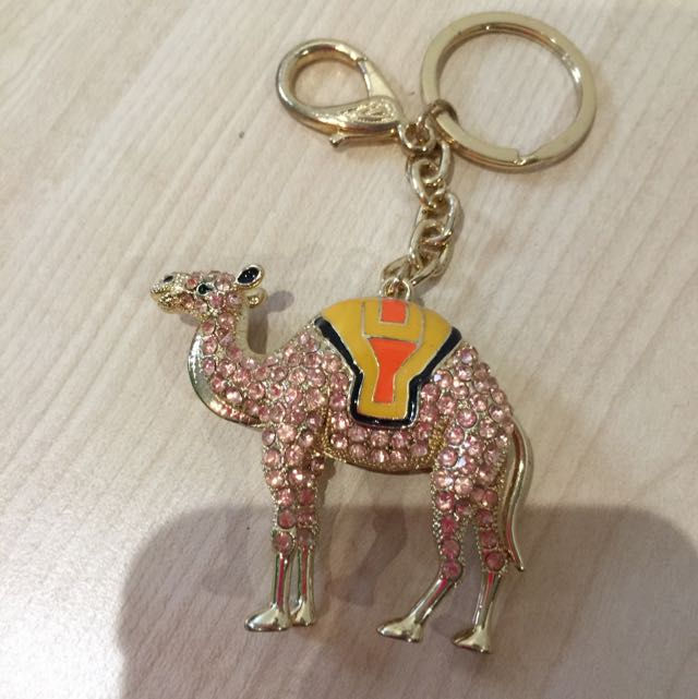 Camel Keyring From Dubai