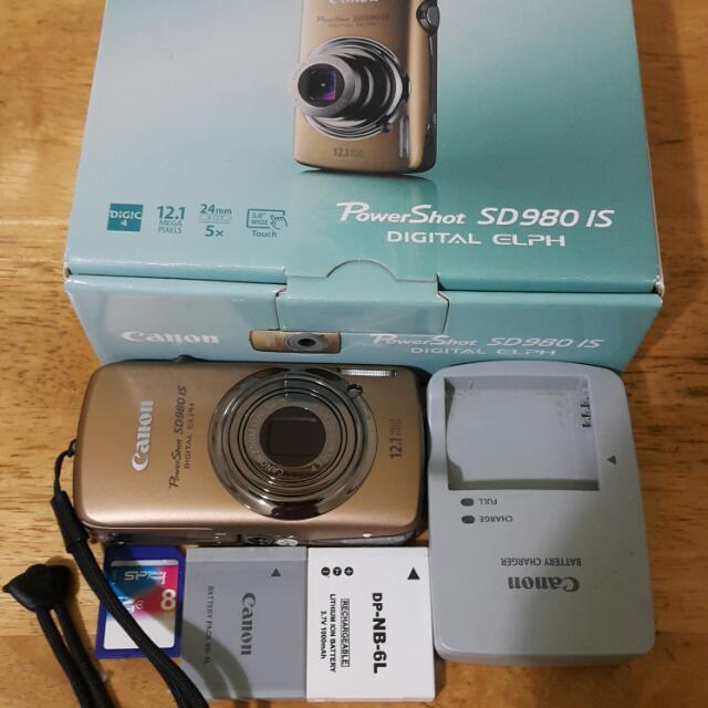 Canon SD980IS=臺灣IXUS200IS(降價出清)
