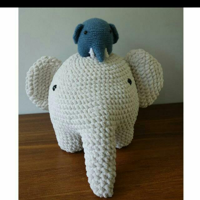 The Sweetest Crochet Elephant Patterns To Try | The WHOot | 640x640