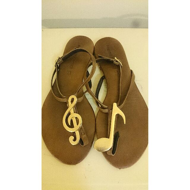 Leather Music Sandals from Greece!