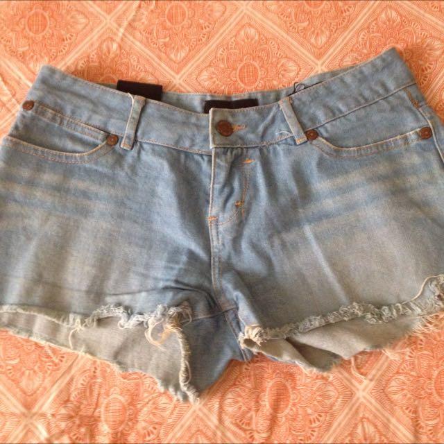 Insight Denim Shorts. Size Medium/10