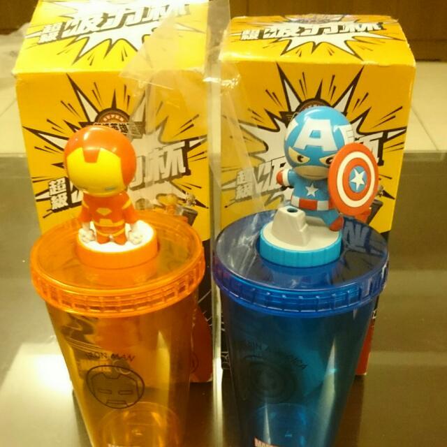 Marvel超級吸力杯