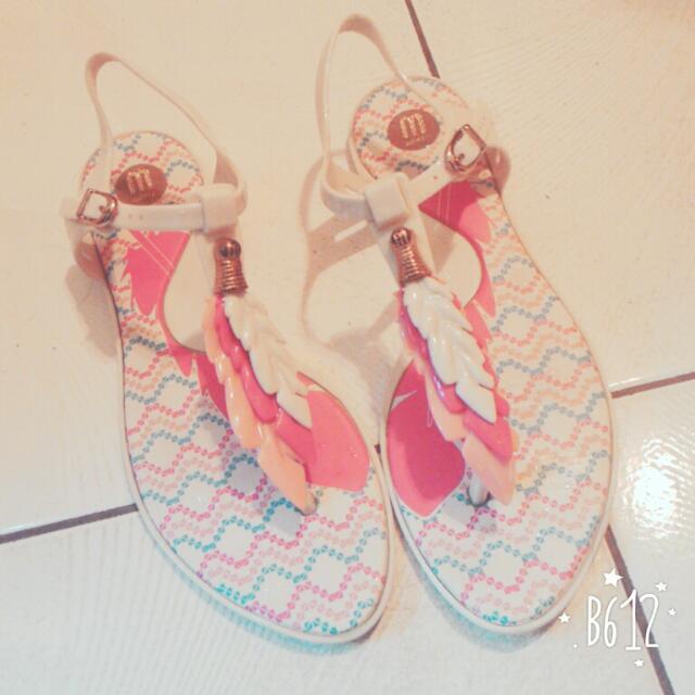 Melissa專櫃涼鞋