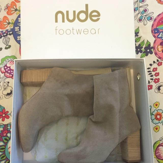 Nude Footwear Boots~