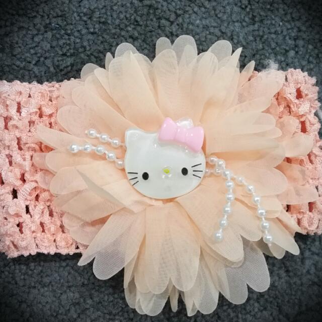 PRELOVED - Hello Kitty Baby Headband e3ab5e9cb91