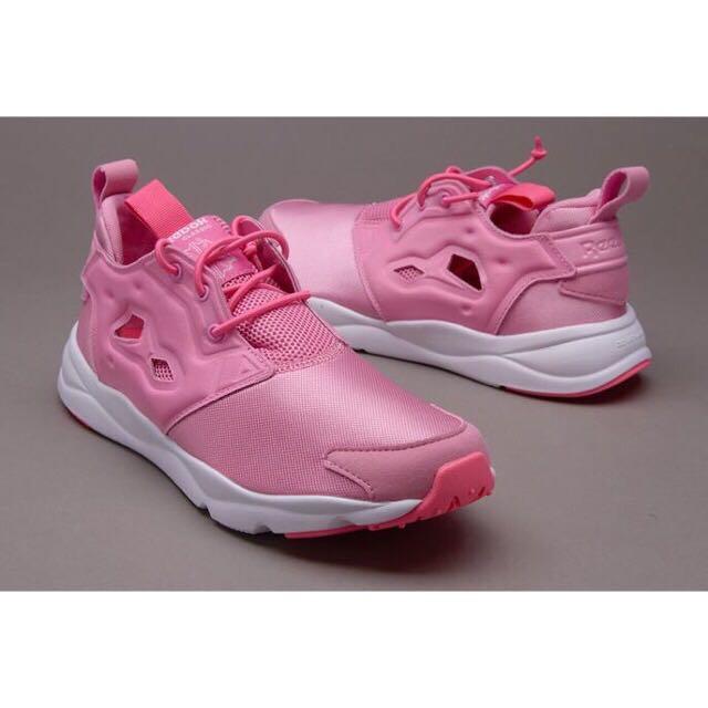 !降價求出售!Reebok 超美粉色美鞋