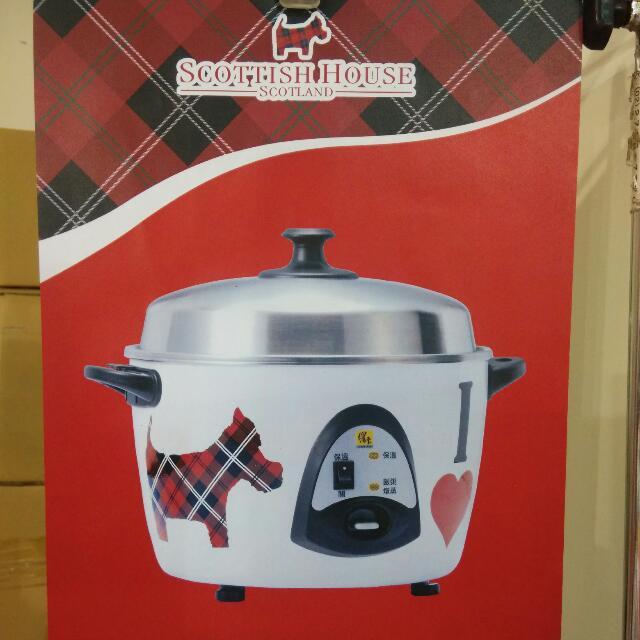 Scottish House 鍋寶聯名11人份電鍋