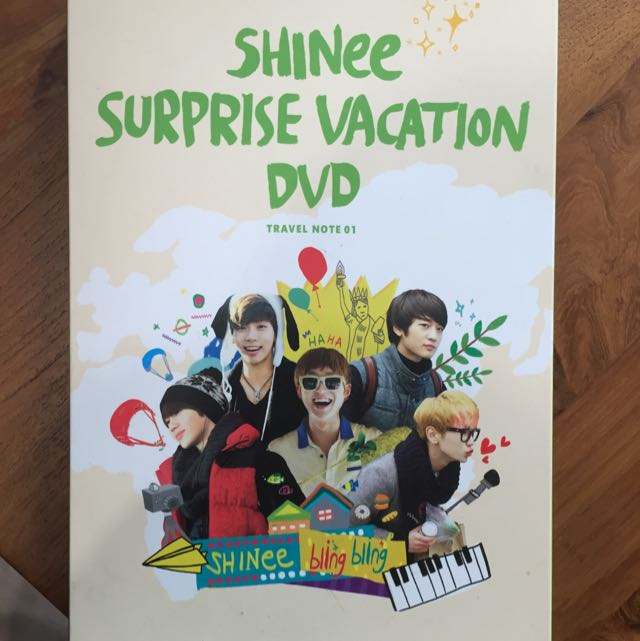 shinee surprise vacation DVD