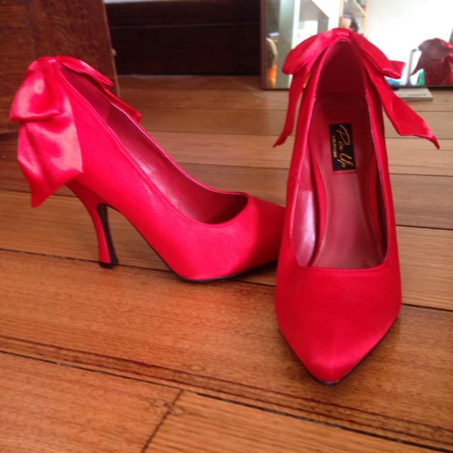 Size 9 Red Heels