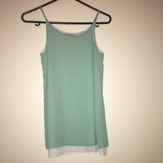 Small Mint Coloured Singlet Top