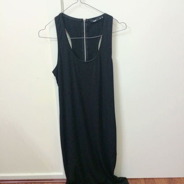 Sportsgirl Long Black Dress