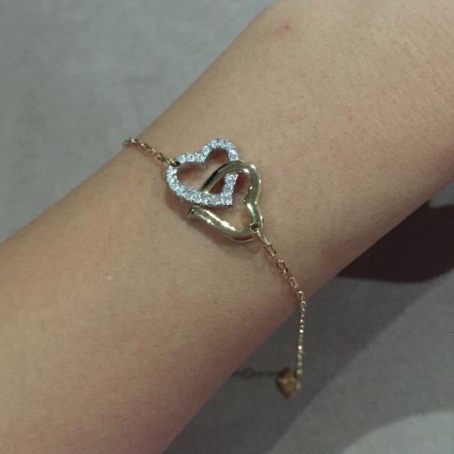 🎀Swarovski Gold Bracelet