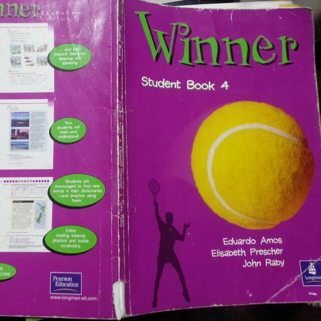 英文課本Winner Student Book4 ISBN0582 3237-4