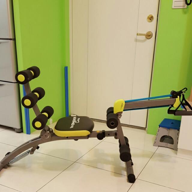 降~wonder core II 健身器 仰臥起座 扭腰 運動